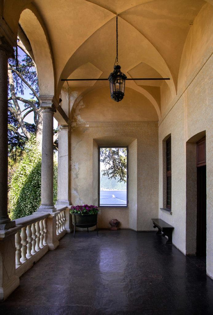 Palazzo Borromeo di Isola Madre - Terrazza con Porticato