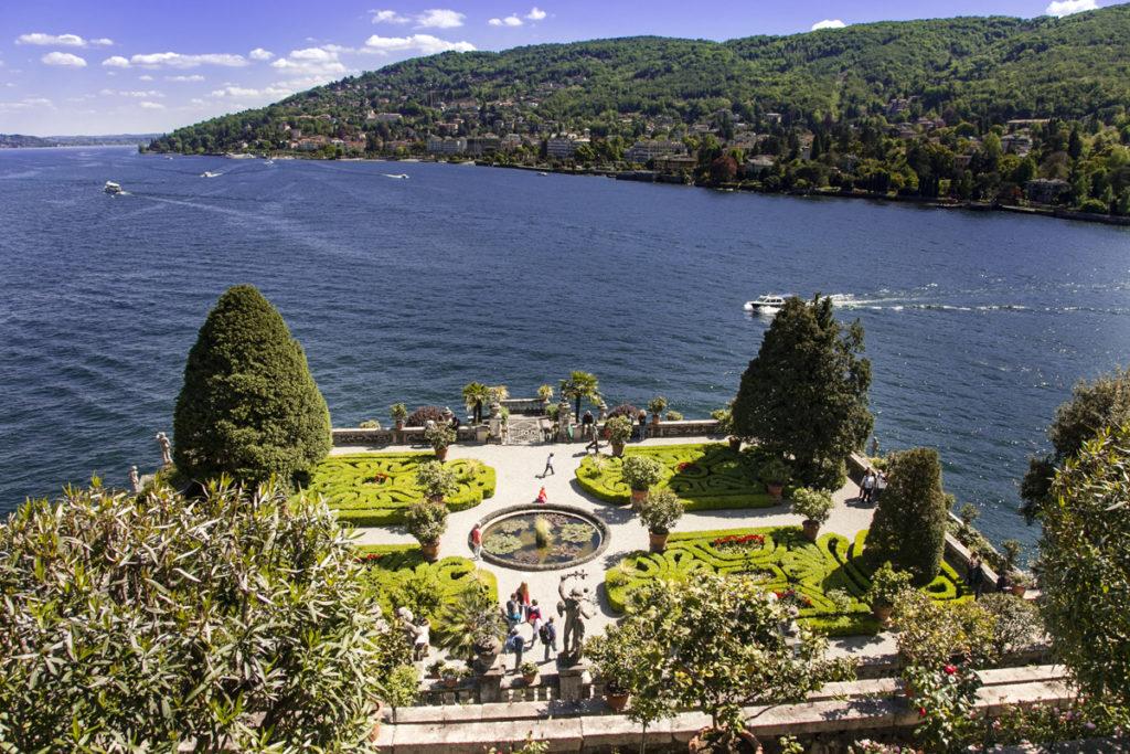 Panorama Giardini Barocchi sul Lago Maggiore