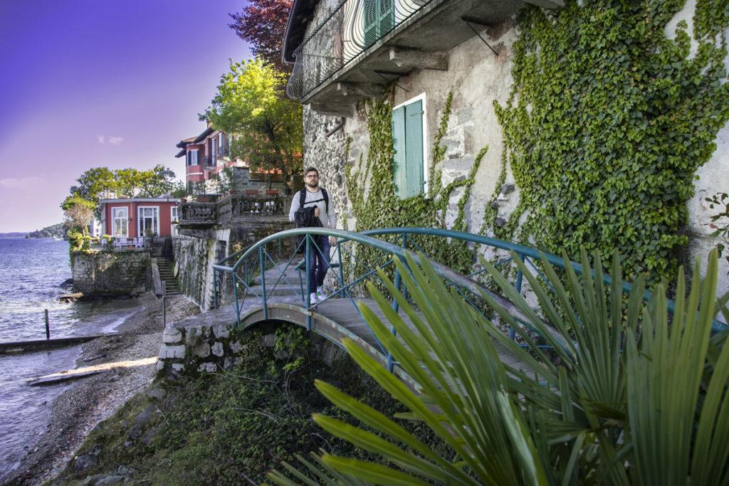 Ponte sul Lago Maggiore