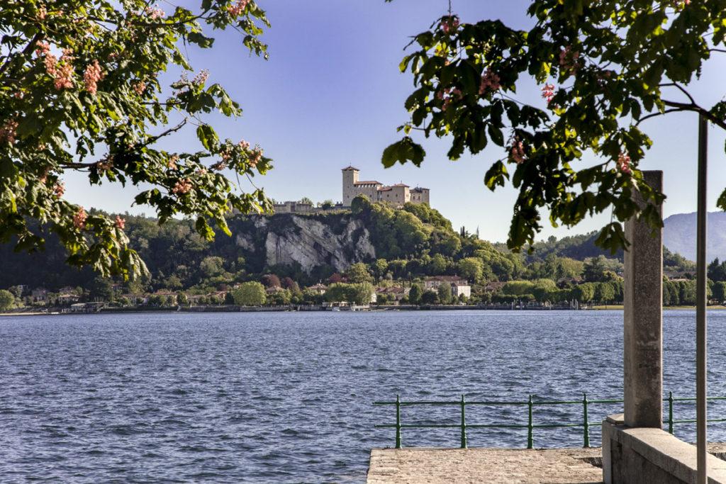 Rocca di Angera - Panorama sul lago maggiore