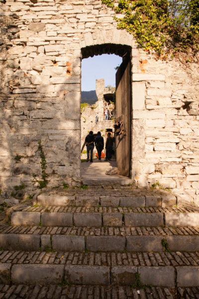 Accesso al cuore del Castello