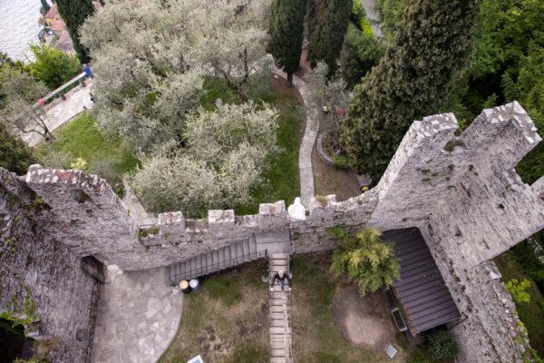 Castello di Vezio dall'Alto