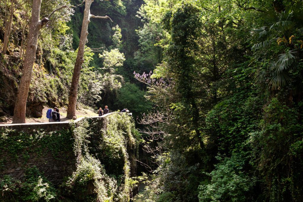 Gita nella natura - Orrido di Bellano - Gola sul lago di Como