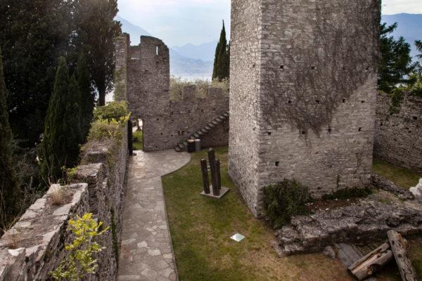 Interni del Castello di Vezio sul Lago di Como - Lecco