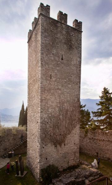 La torre del Castello di Vezio - Varenna
