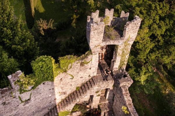 Le torri del Castello di Vezio