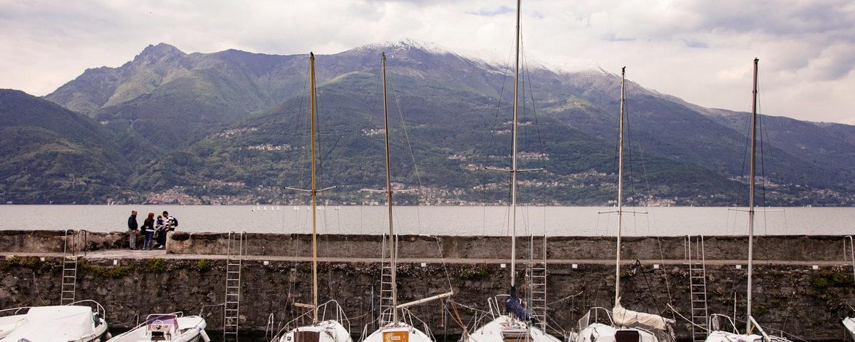 Porto di Bellano su Lago di Como - Provincia di Lecco