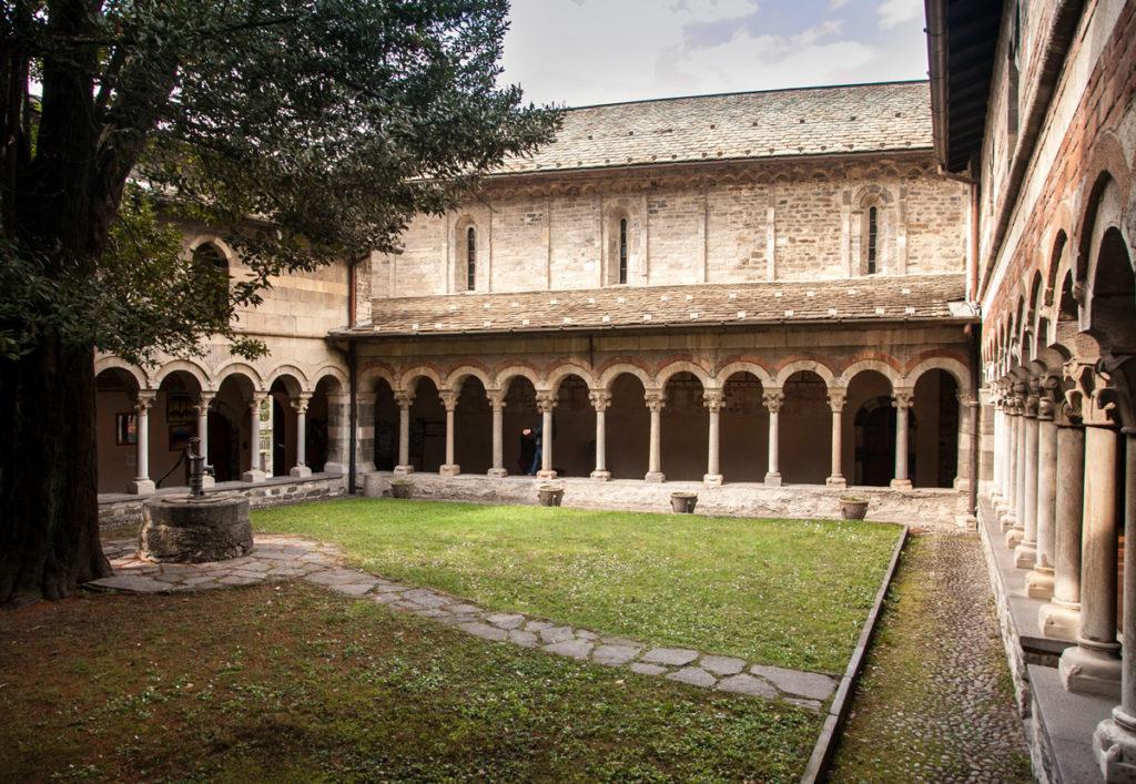 Pozzetto e Giardino Priorato di Piona