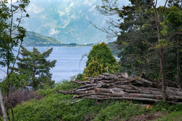 Scorcio sul Lago di Como - Lecco