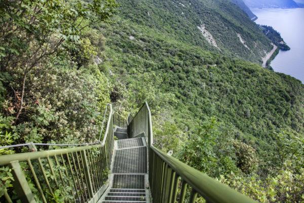 400 scalini del sentiero panoramico di torbole