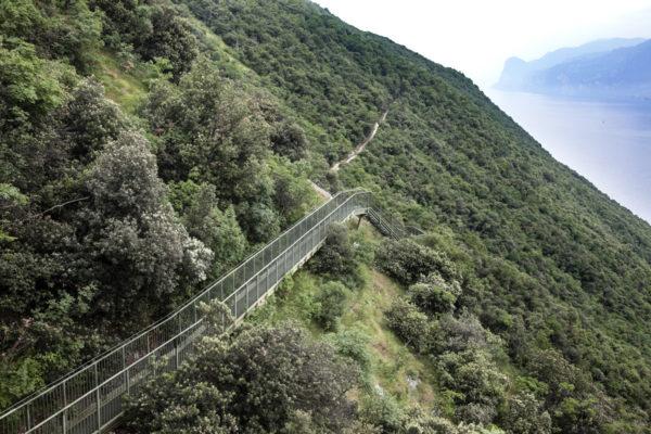 400 scalini sul lago di Garda - Sentiero di Busatte Tempesta