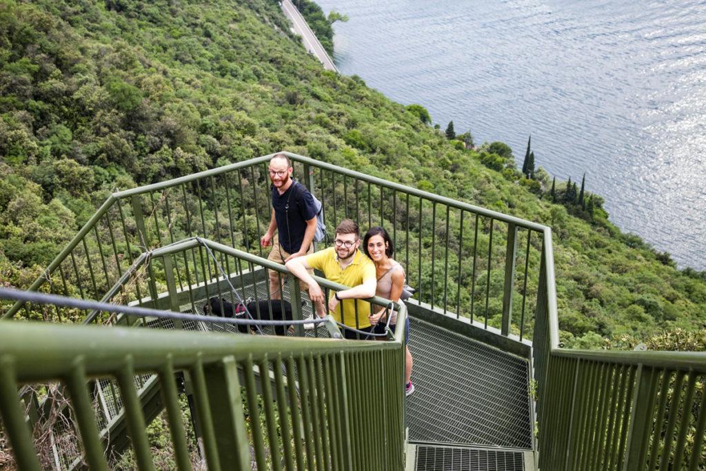 Amici sul lago di Garda - Lato Trentino