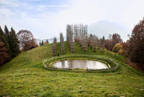 Cattedrale Vegetale di Giuliano Mauri - Oltre il Colle
