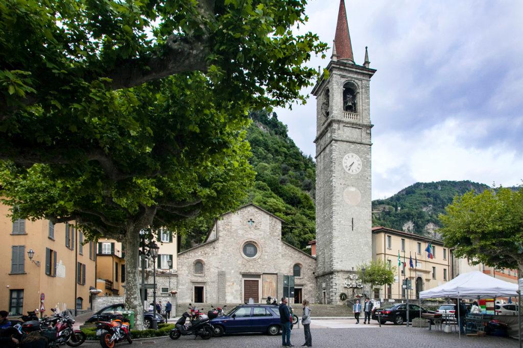 Chiesa e Campanile di San Giorgio - Varenna Piazza San Giorgio