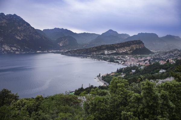 Escursione sul Lago di Garda - vista su Torbole