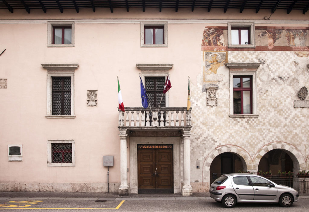 Ingresso Municipio di Rovereto