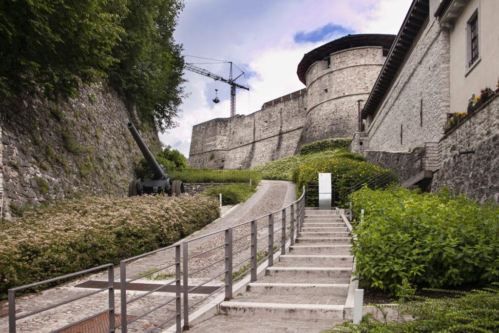 Ingresso al Castello di Rovereto