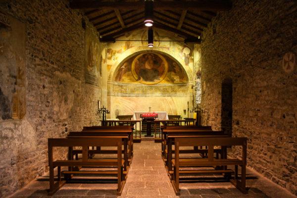 Interni e Cappella San Giovanni Battista