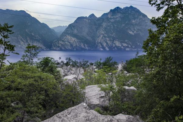 Lago di Garda visto da Busatte