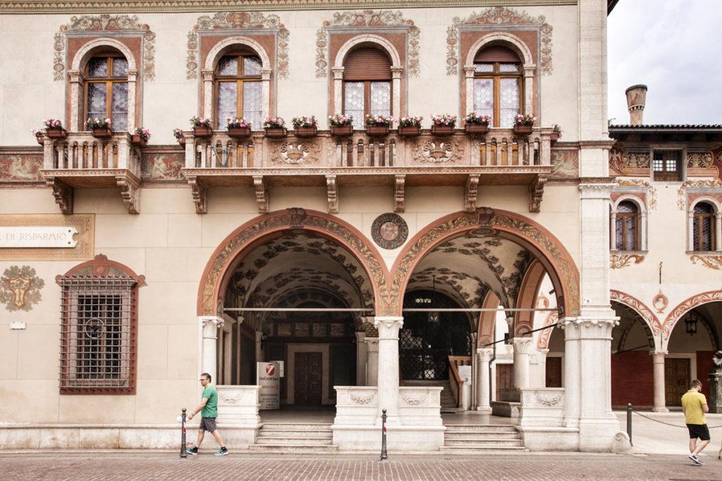 Palazzo del Ben - Facciata e Porticati