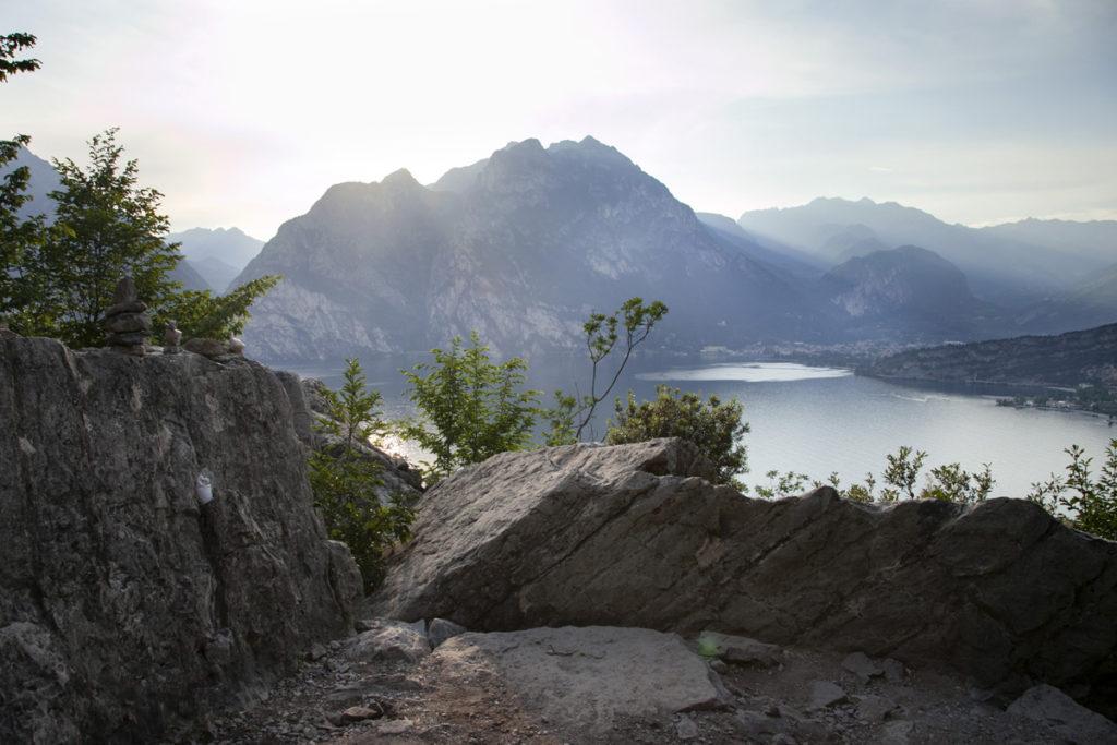 Panorama al Tramonto sul Monte Baldo - Lago di Garda