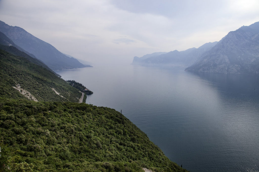 Panorama sul lago da Nago Torbole