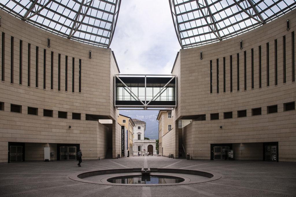 Piazzetta Museo arte Contemporanea e Moderna - Rovereto