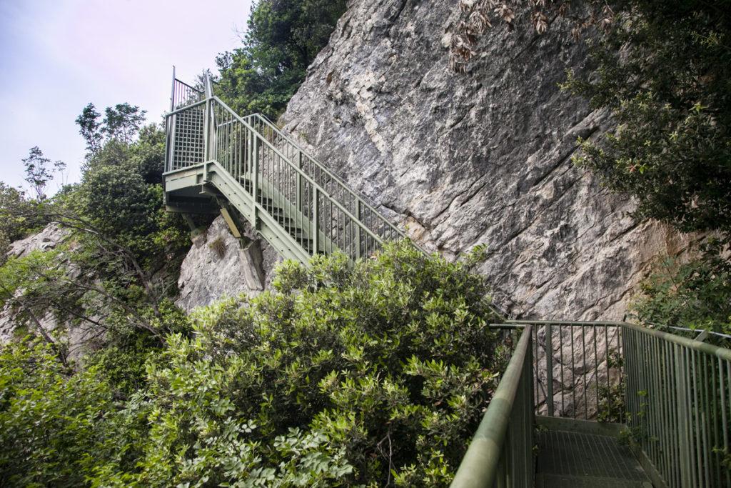 Quattrocento Scalini - Percorso Panoramico Torbole