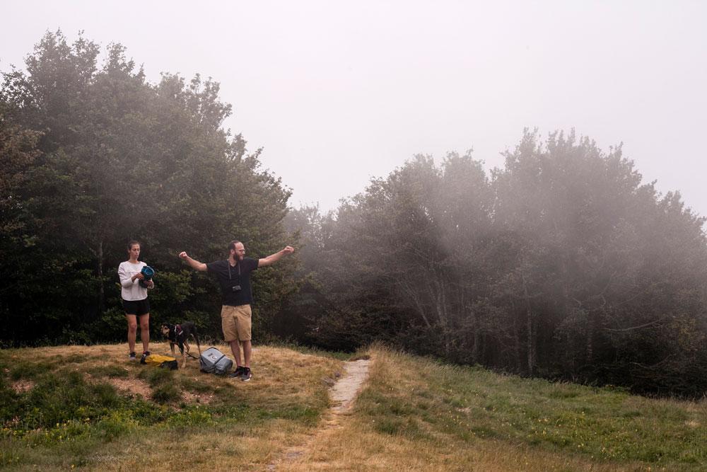 Tra le Nuvole del Monte Falterona - 1654 mslm