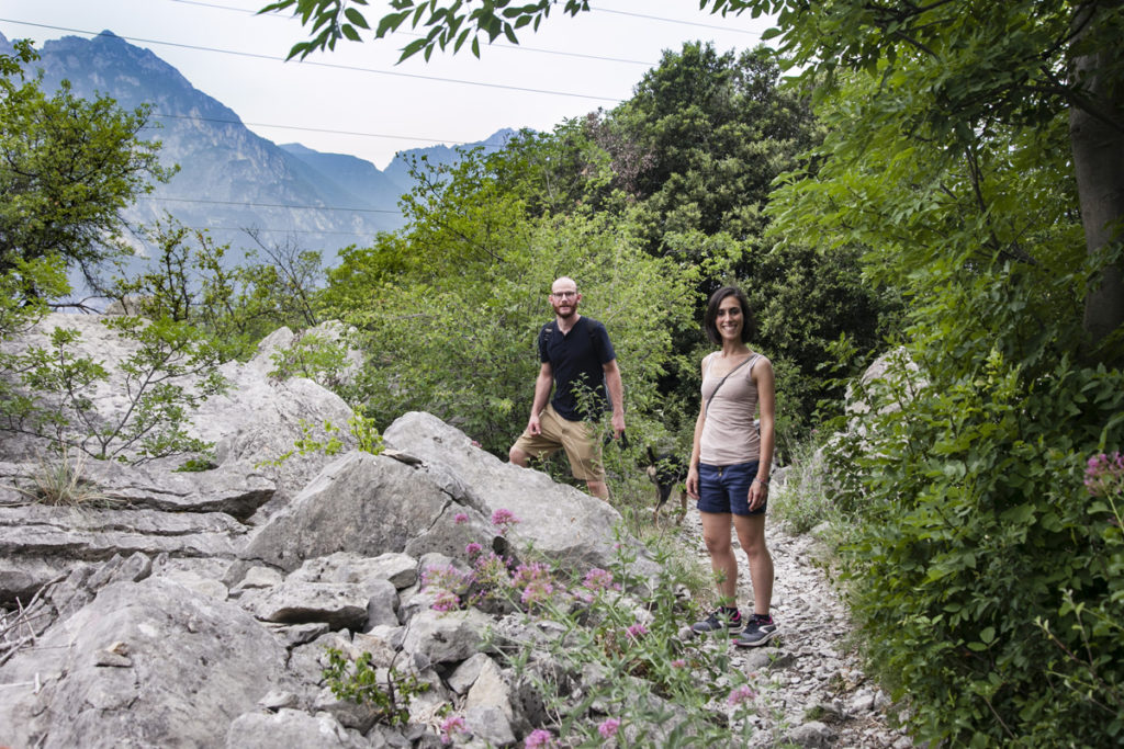 Valentina e Francesco sul Monte Baldo