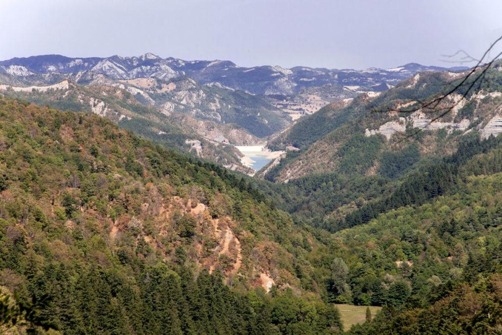 Belvedere - Panorama Valle della Lama - Lago di Ridracoli