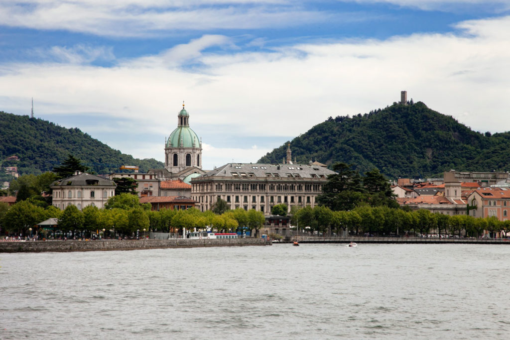 Cattedrale di Como Centro Storico e Lago - Panorama