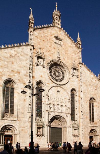 Facciata Cattedrale di Santa Maria Assunta - Como