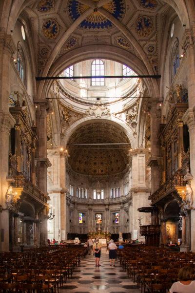 Interni del Duomo di Como