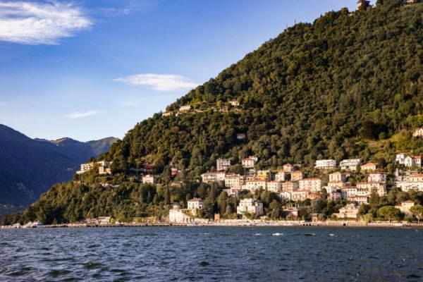 Lago di Como e Crinali della montagna