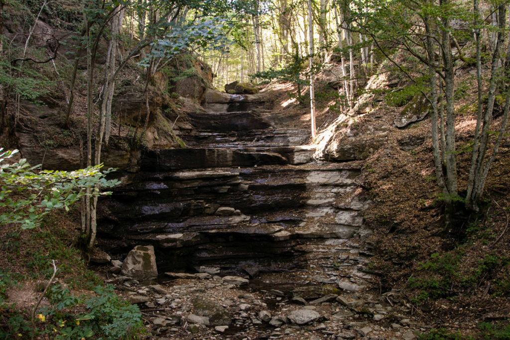 Le Tre Cascate - Parco Nazionale delle Foreste Casentinesi