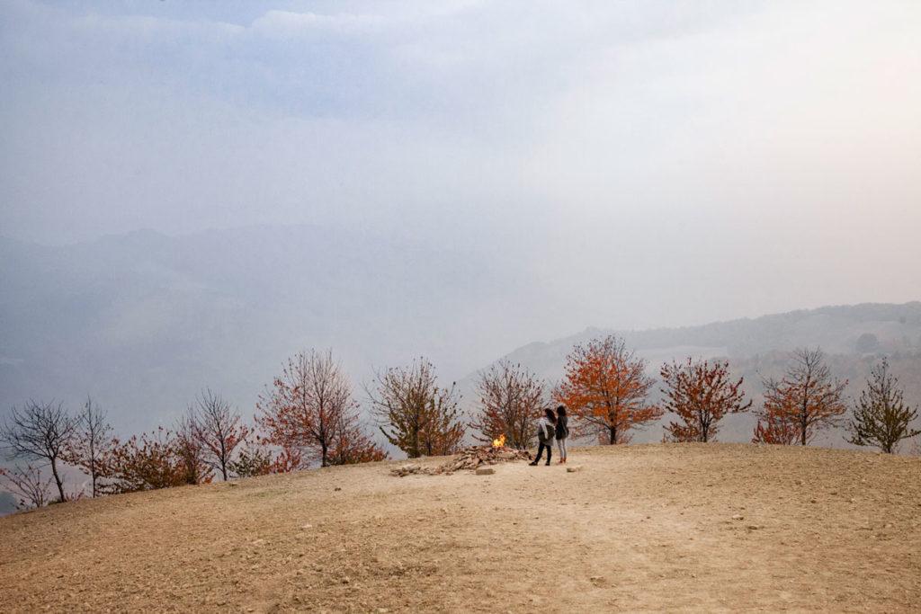 Monte Busca - Località Inferno - Collina con Vulcano