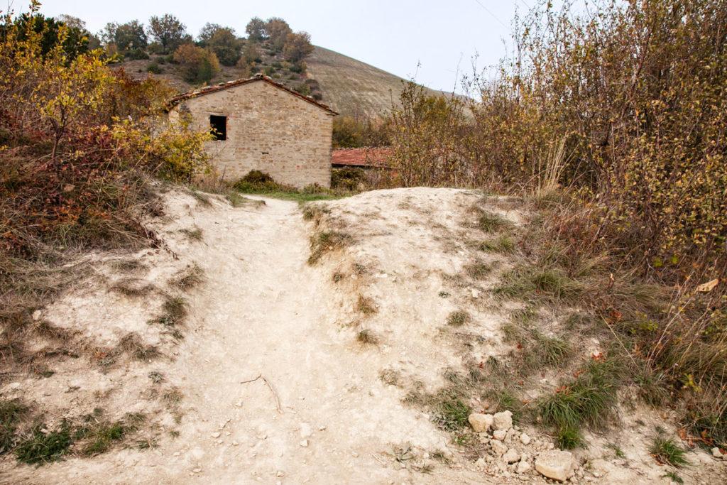Monte Busca - Salita per l'uscita
