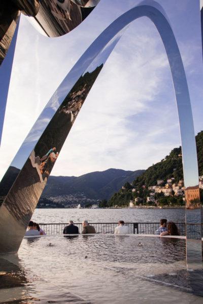 Monumento Moderno sul lago di Como - Life Electric - Libeskind