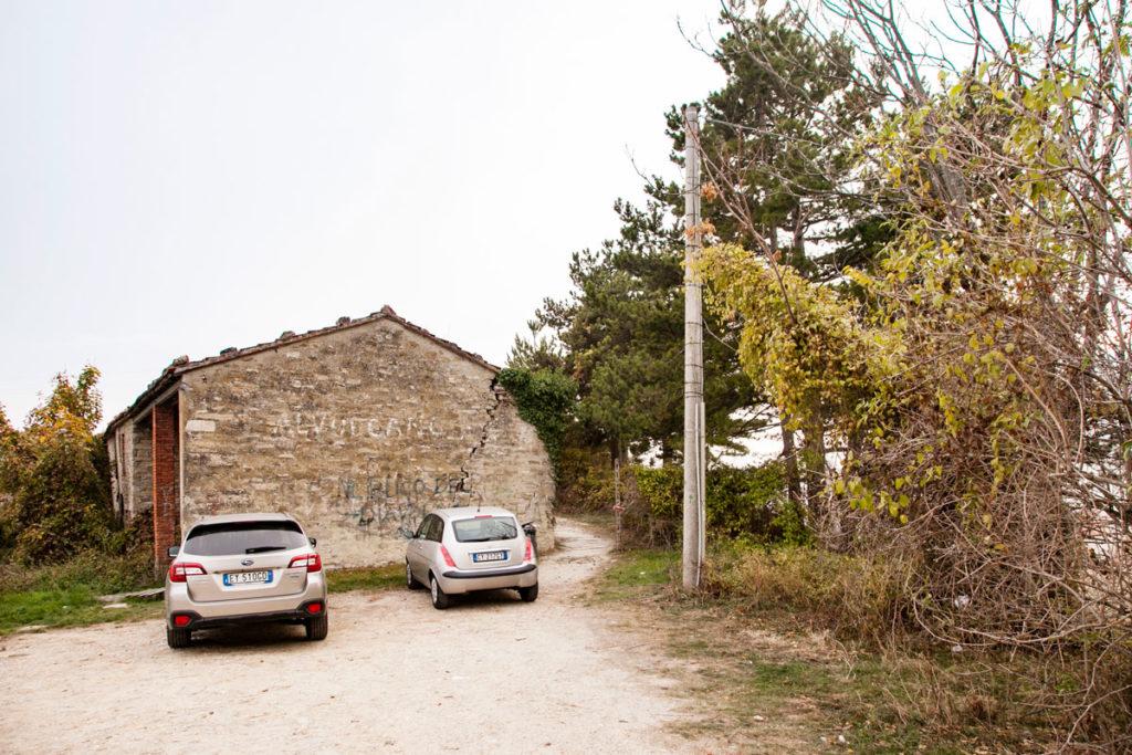 Parcheggio del Vulcano - Casa Disabitata