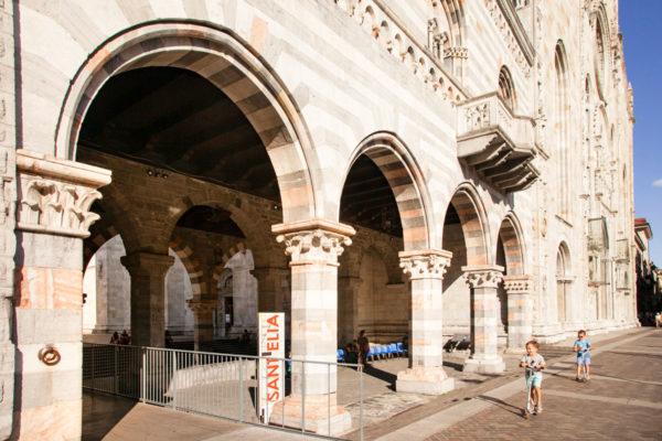 Portici della Cattedrale di Santa Maria Assunta - Como