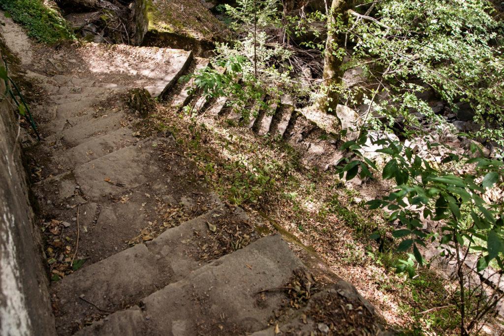 Scalandrini - Scalinata in Pietra - Sentiero 227 Trekking