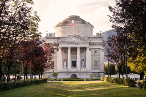 Tempio Voltiano e Giardini - Como