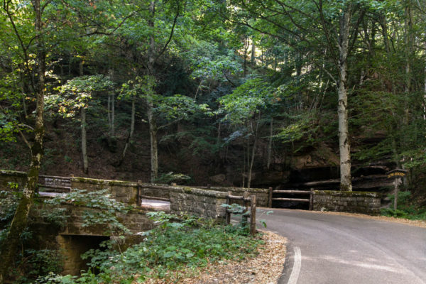 Verso il Rifugio Fangacci - le Tre Cascate