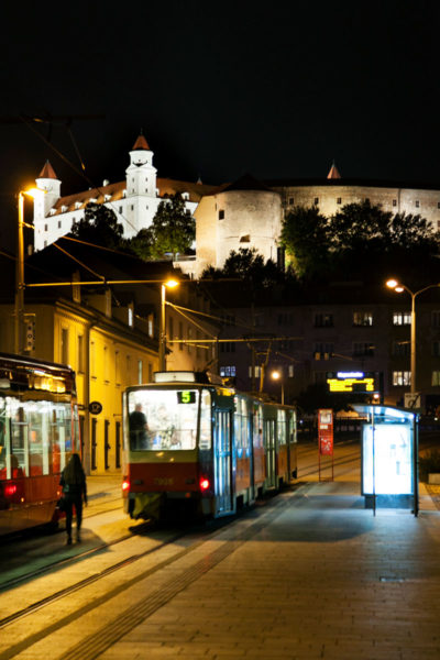 Bratislava di Notte - Centro storico e Castello