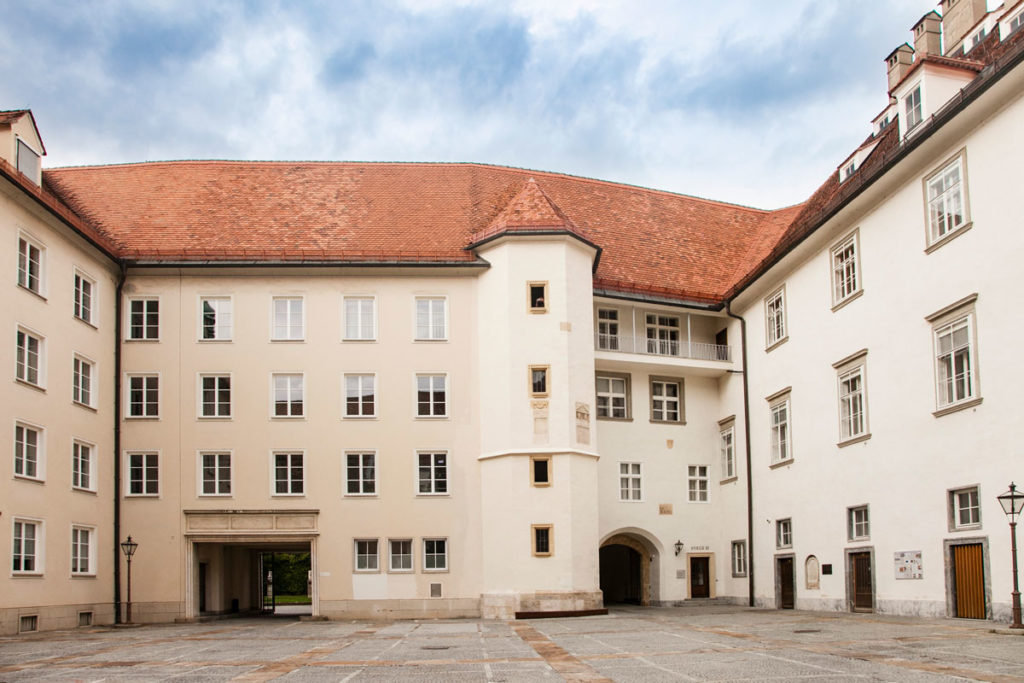 Burg - Sede del Governatore della regione della Stiria - Austria