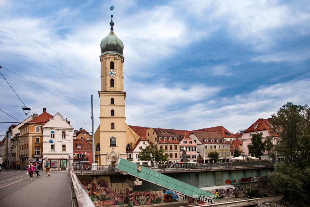 Campanile della Franziskanerkloster - Graz
