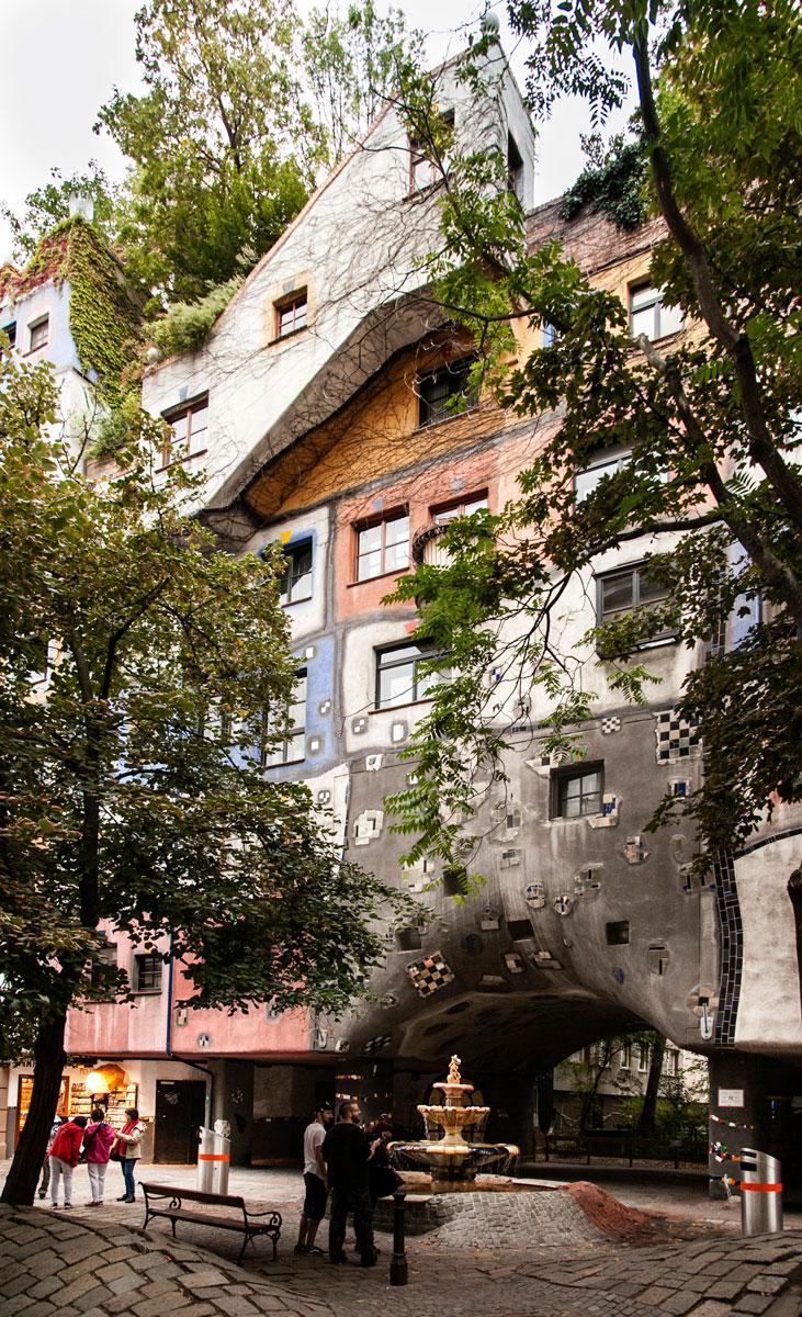 Due giorni a vienna castello di sch nbrunn e la zona for Case architettura moderna