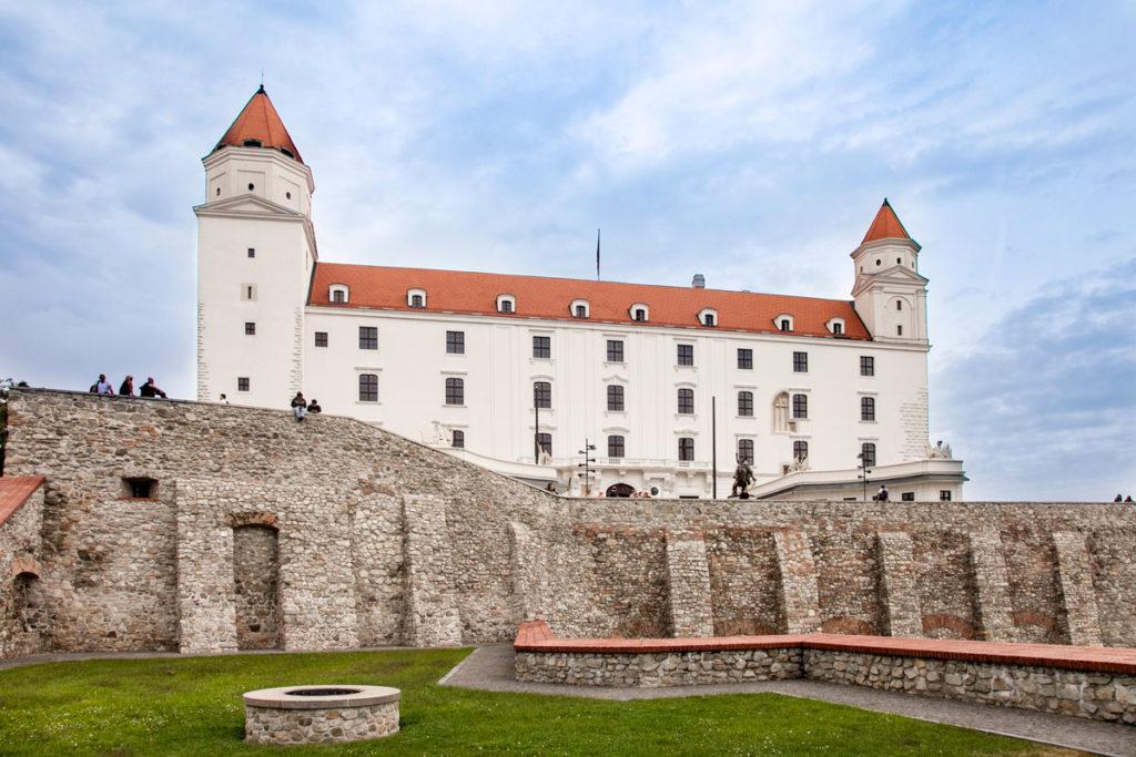 Castello di Bratislava del 1953 - Sede del Parlamento