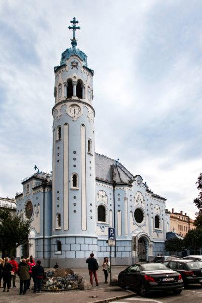 Chiesa Blu di Brastislava - Campanile